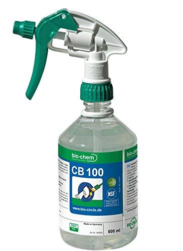 bio-chem CB 100 500 ml extrem Entfetter Der ökologische Kraftreiniger Powerreiniger aus nachwachsenden Rohstoffen Bio-Reniger BIOLOGISCH VEGAN (Reiniger Entfetter Natürliche)