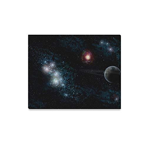 Wandkunst Malerei Summe Dinge Sterne Planeten Drucke Auf Leinwand Das Bild Landschaft Bilder Öl Für Zuhause Moderne Dekoration Druck Dekor Für Wohnzimmer -