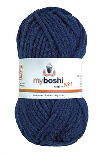 50g myboshi original No.1 Wolle Fb.155 marine