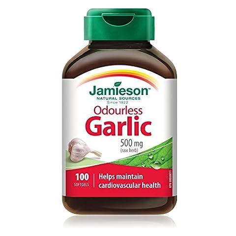 Odorless Knoblauch - Jamieson - Essen Knoblauch Ergänzung für das