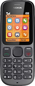 Nokia 100 Handy (4,6 cm (1,8 Zoll) Display, Radio) phantom schwarz