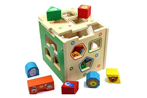 You & XI de madera educativos Forma Clasificación caja
