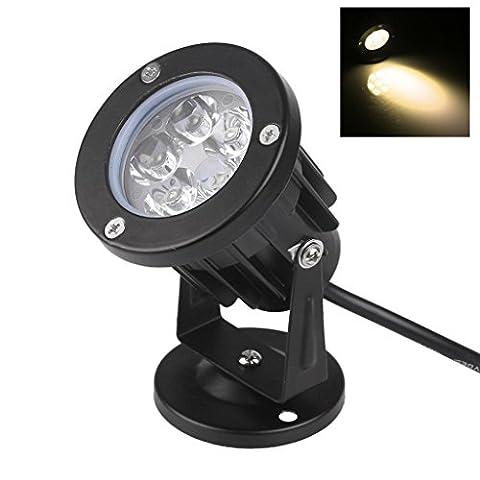 Bloomwin Projecteur led exterieur, 5W 500LM IP65 12V Lampe Projecteur Spot Orientable Lumière d