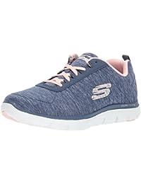 Skechers Women's Flex Appeal 2.0 Multisport Outdoor Shoes, Black