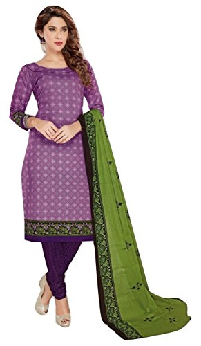 Shalibhadra purple color top with green color duppata and purple color salwar...