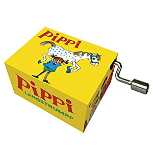 "Fridolin Spieluhr/Music Box""Hey, Pippi Langstrumpf"""