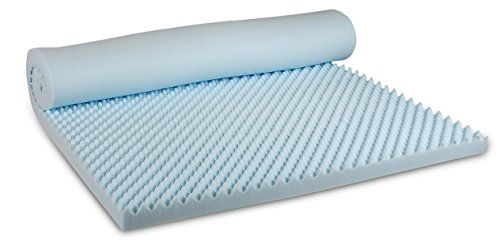Visco Therapy CoolBlue Egg 3.5 cm Memory Foam Mattress Toppe... 8