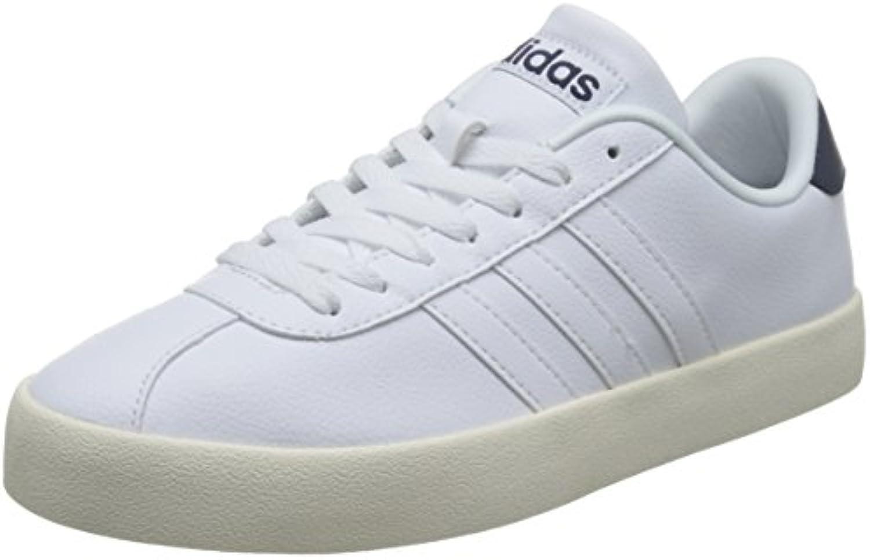 adidas NEO Herren Sneakers Vlcourt VULC Weiss 100 402/3