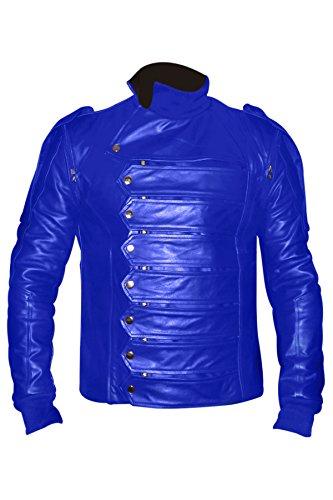 luvsecretlingerie - Blouson - Homme Bleu