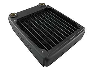 XSPC EX120 Boitier PC Radiateur - ventilateurs, refoidisseurs et radiateurs (Boitier PC, Radiateur, 12 cm, Noir, 121 mm, 35,5 mm)