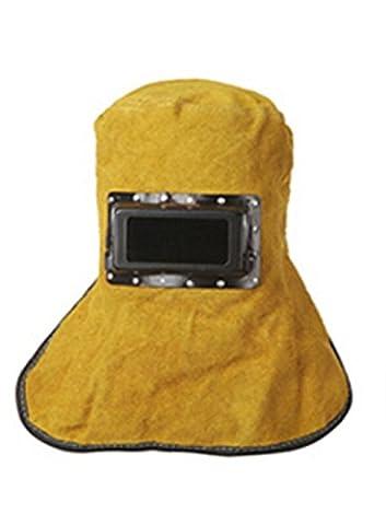 Babimax Masque de Soudage Cuir Pliable Chapeau Épaule Tête de