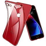 Joyguard Coque iPhone 8, Coque iPhone 7 Premium TPU Souple Silicone Plating Coquille...
