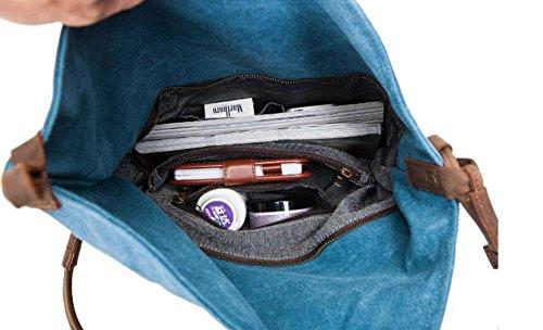 KYFW, marea del sacchetto del sacchetto della spalla della catena della ragazza dell'allievo della borsa del sacchetto del messaggero di modo delle donne B