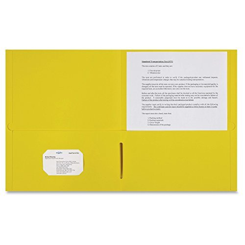 Sparco 2-pocket Leatherette Portfolio by Sparco