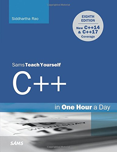 Sams C Yourself Teach (C++ in One Hour a Day, Sams Teach Yourself)
