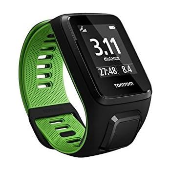 TomTom Runner 3, Reloj, Negro/Verde, S (Pequeña)