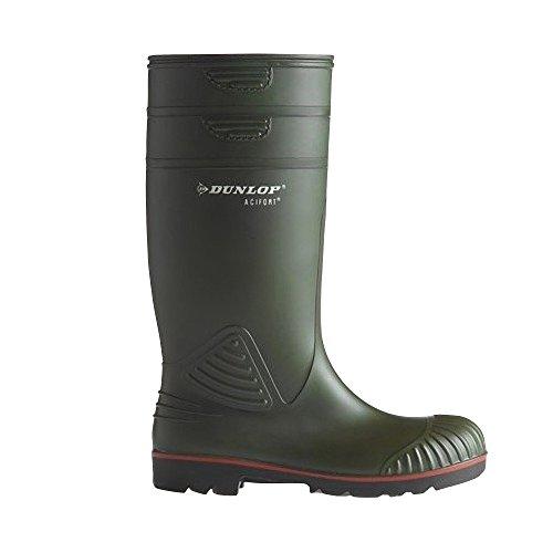 Stivali Dunlop Di Sicurezza A442631 Man Green Per Acifort UwvwqxdP