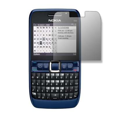 Réutilisable Premium LCD Film de Protection d'écran effet miroir pour Nokia E63[Accessory Export Packaging]