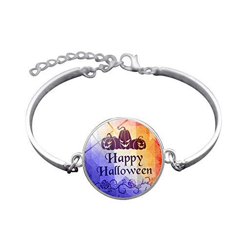 (Blisfille Handgemachte Halloween Schmuck Zeit Edelstein Armband Festival Armband Armband Damen Herren Alltag)