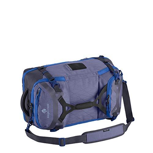 Eagle Creek Gear Warrior Travel Pack in Arctic Blue, 2in1 Rucksack und Reisetasche, recyceltes PET-Ripstop Material, robust & wasserbeständig, Handgepäckgröße, 45 L