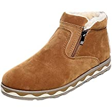 Botas Calientes De Invierno Para Hombres,Toamen Botas De Nieve De Moda De Felpa