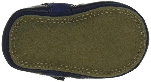 Easy Peasy Chobotte Uni, Chaussures de Naissance mixte bébé Bleu (18Encre)