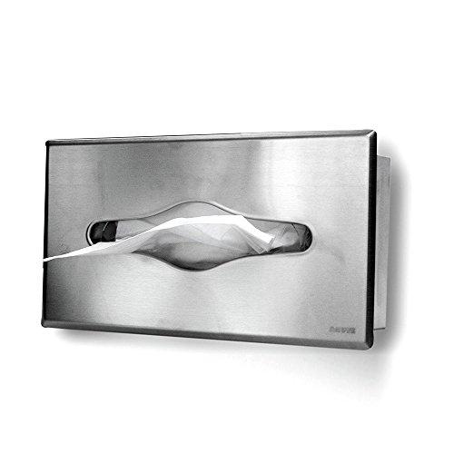 AGUTE Papiertuchspender Matt Unterputz zum Einbau, Platzsparend Handtücher Papierhandtücher Spender