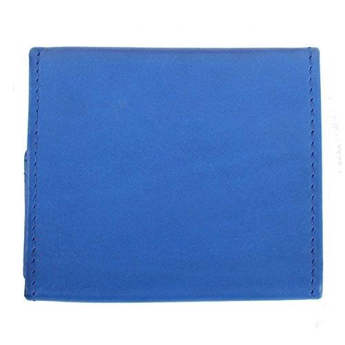 Lederbags , Portafogli  Nero Crema blu