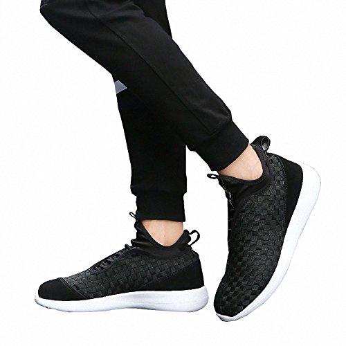 Ben Sports Sneaker uomo indoor outdoor multisport uomo Scarpe sportive corsa da uomo nero