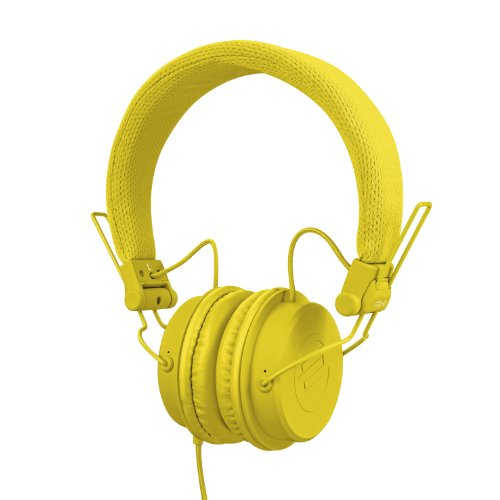 Reloop AMS-RHP-6-YELLOW - Auriculares para DJ, color amarillo
