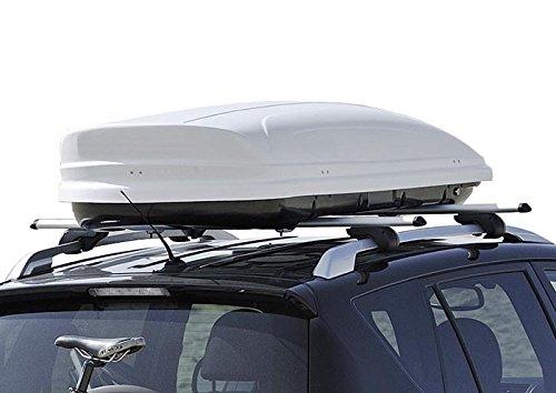 Dachbox VDP-MAA460 White Dachkoffer Autokoffer Weiss abschließbar 460Ltr