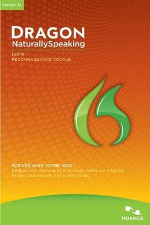 Dragon NaturallySpeaking 12.5 Home [Téléchargement]