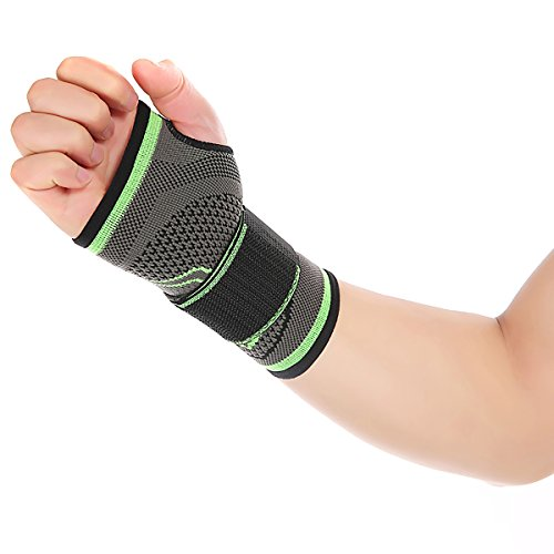 Handgelenk Kompression Sleeve Athletic Fitness Schutzhülle Sleeve Single 1 PCS, M -