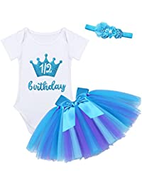 Ropa Para bebé Niña YIZYIF Conjunto de bebe nina Traje de 3PCS Para Cumpleaños Fotografia