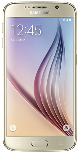 Samsung Galaxy S6 Smartphone (12,9 cm (5,1 Zoll) Touch-Display, 32GB Speicher, Android 5.0) Gold [T-Mobile Branding]