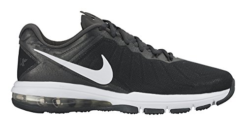 Nike Herren Air Max Full Ride Tr Low-Top Schwarz (001 BLACK/WHITE-ANTHRACITE-DARK GREY)