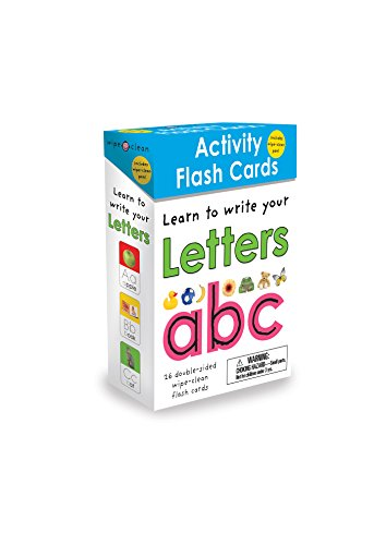 Wipe Clean: Activity Flash Cards Letters (Wipe Clean Activity Cards)