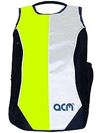 "Acm Premium Laptop Backpack Padded Bag For Dell Inspiron 15 3521 15.6"" Laptop Green"