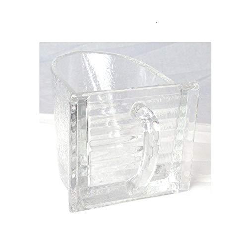 Küchenschütten Glasschütten Keramikschütten - 0,75 Ltr Farbe matt