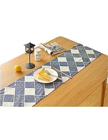 GGCCX Double Table De Coton Linge De Coureur Bustier Table Arts Zen Cérémonie Du Thé Coureur