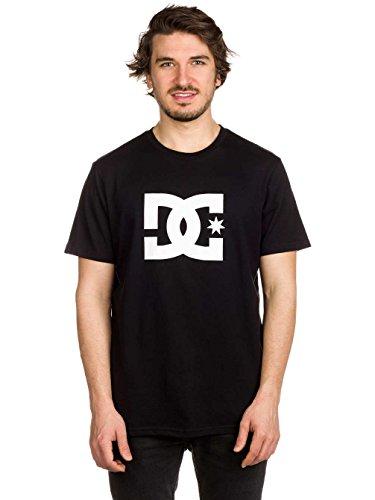 DC T-Shirt Star Schneeweiß Schwarz