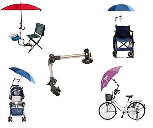 Portaombrello per bici/sedia a rotelle/deambulatore/passeggino/pesca/Golf Trolley