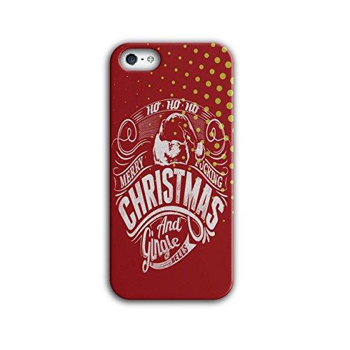 Gingle Glocken Weihnachten Ho Fröhlich iPhone 5 / 5S Hülle | Wellcoda