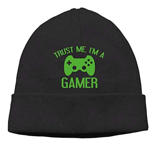 Beanie Hat Trust Me, I'm A Gamer Skull Knit Cap for Men