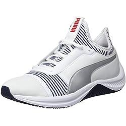 Puma Amp XT Wn's, Zapatillas de Deporte para Mujer, Blanco White-Peacoat 02, 37 EU