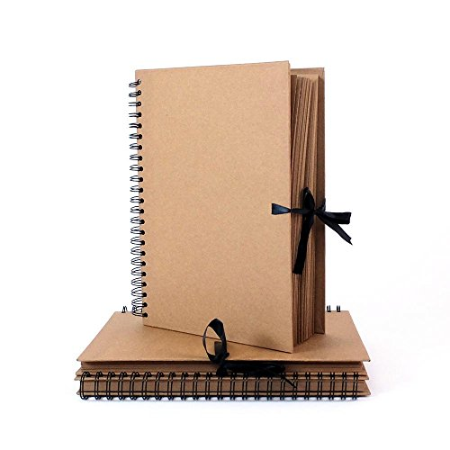 Seawhite New Hardback Portrait Kraft Book A3 Test