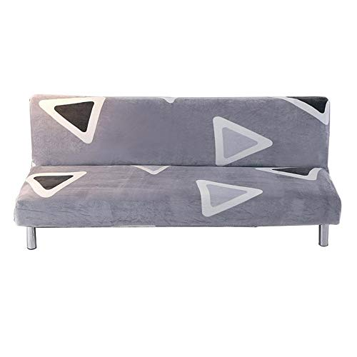 Sofa Bett Protector Armless Couch Cover Fit Stretch Stilvolle Home Folding Möbel Sitzer Protector Sofa Belegabdeckung für Terrasse Couch Bench