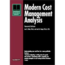Modern Cost Management and Analysis (Barron's Business Library) by Jae K. Shim Ph.D. (2000-08-01)