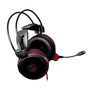 Audio-Technica ATH-AG1X High-Fidelity Closed-Back Gaming Headset, One Size