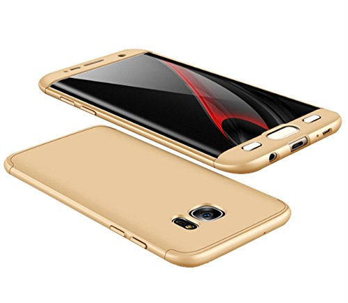 Qissy® Carcasa Samsung Galaxy S7 Edge ,Todo incluido Anti-Scratch Ultra Slim Protective...